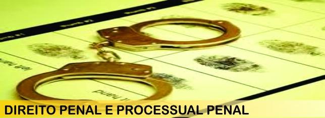 DIREITO PENAL E PROCESSUAL PENAL - cabecalho