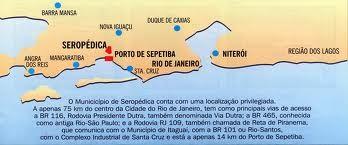 seropedica mapa