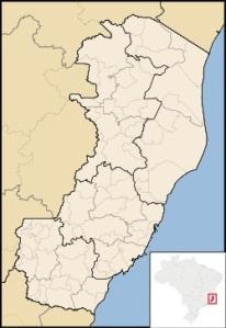 ESPÍRITO SANTO - MAPA