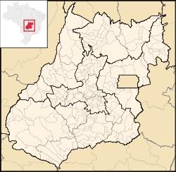 mapa goias