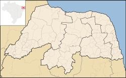 MAPA RIO GRANDE DO NORTE
