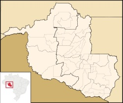 rondonia mapa