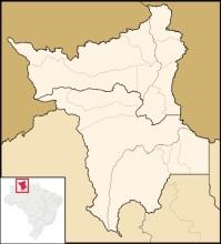 roraima - mapa
