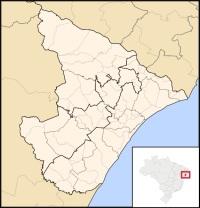 sergipe mapa