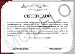 Modelos De Certificados Ucamprominas Ead
